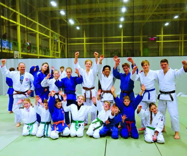 Judoka's volgen goede stage in Hoogvliet en Koksijde