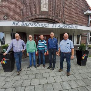 De broers Johan en Alwie Leus reizen in hun herinnering terug <br />Naar de jaren 50 en 60 op de St. Alphonsusschool