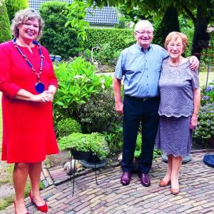 Gerard en Gerda Bossink zijn dankbaar voor 60 huwelijksjaren