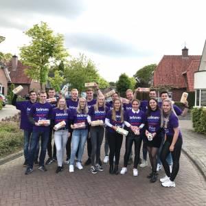 Bewoners Zonnedauw houden SamenLoop voor Hoop-actie in kader eierbaktraditie