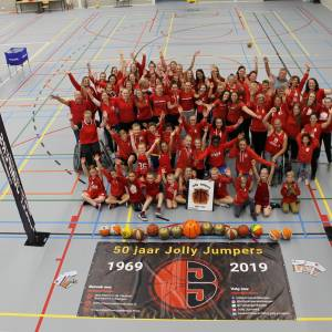 Jolly Jumpers beleeft onvergetelijk gouden jubileumfeest