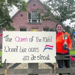 Tulk voor de vijfde keer Queen of the Roads