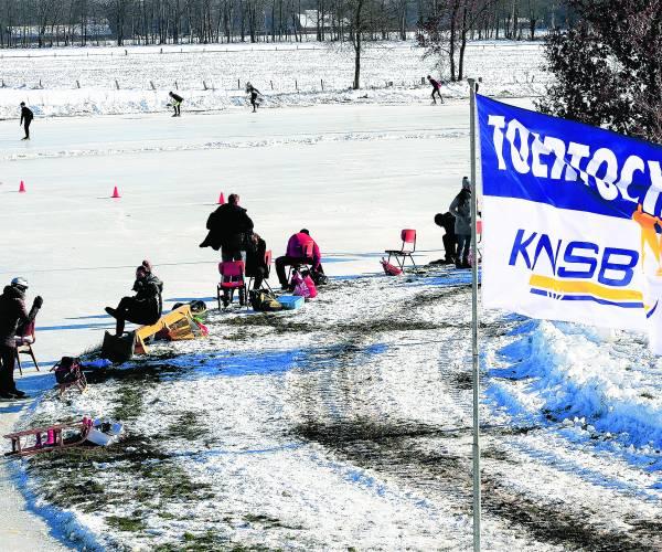 IJspret op de ijsbaan Bous – Mös