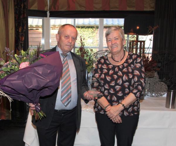 Tenor Gerrit Haarhuis veertig jaar lid herenkoor Geesteren