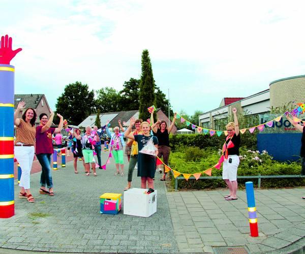 Nieuwe locatie voor Verjaardagsbox gemeente Tubbergen Basisschool Kadoes nieuw onderkomen