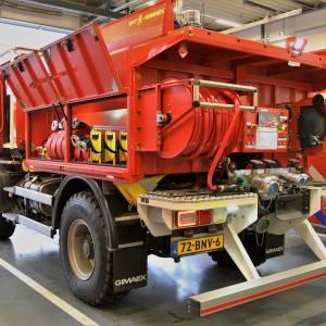 Brandweer Tubbergen maakt kennis met bosbrandbestrijdingsvoertuig