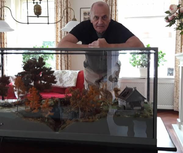 Molenpassie en creativiteit als basis voor maquette Watermolen De Mast