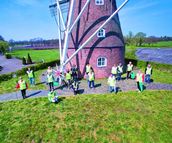 'Fleringen schoon' feestelijk verder met werkzaamheden