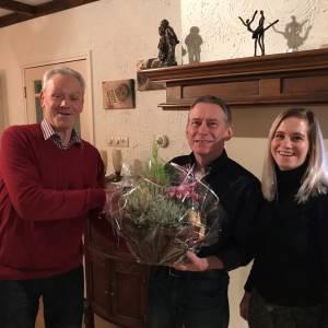 Toneelvereniging Vasse neemt na 46 jaar afscheid van Gerard Lansink