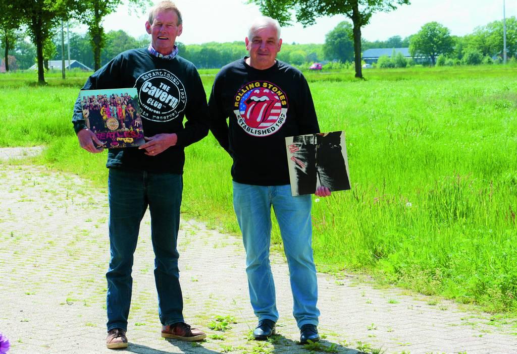 Links op de foto Harrie Lenferink en rechts Gerard Schepers.