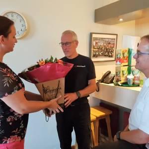 Peter Gresnigt oudste vrijwilliger van Brandweer Twente