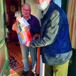 KBO Vasse verrast leden met een kerstpakket