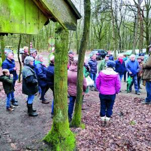 Natuurorganisaties geven met excursie toelichting op herstel Springendal en Dal van de Mosbeek