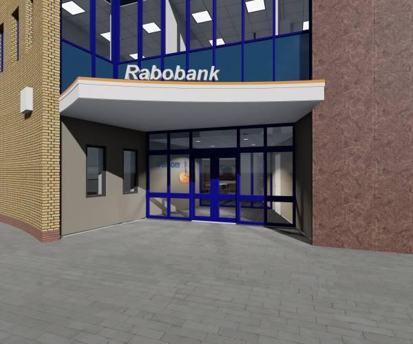 Rabobank Tubbergen na de bouwvak weer terug op oude locatie
