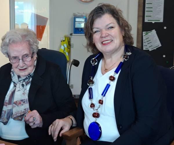 104-jarige Marie Wesselink oudste inwoner gemeente Tubbergen