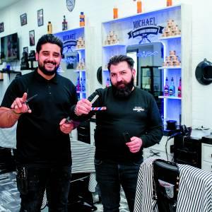 The Old Skool Barbershop Michael viert jubileum