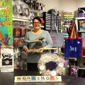 ThuisbijOns: sieraden maken, workshops, kinderfeestjes en cadeaus